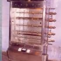 chicken roasting machine lpg operated
